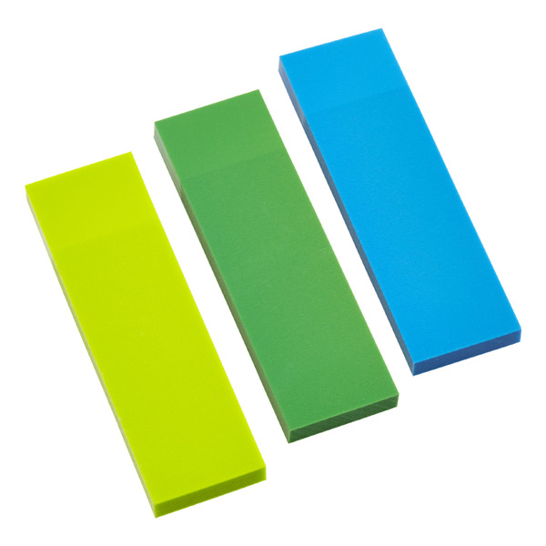 Writable Page Markers Lime/Blue/Green Pkg/150