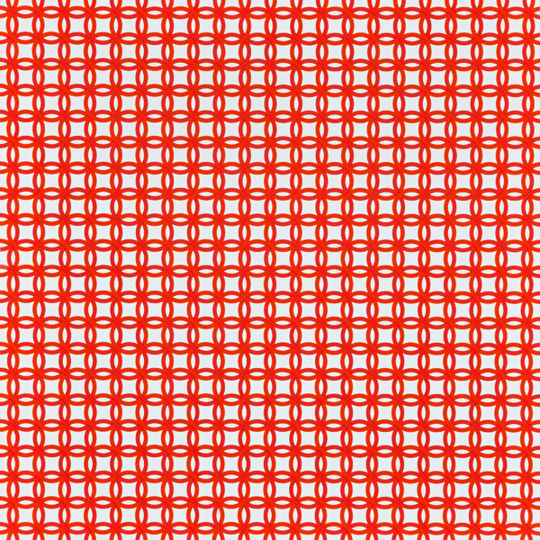 Treeless Wrap Interlocking Circles Orange