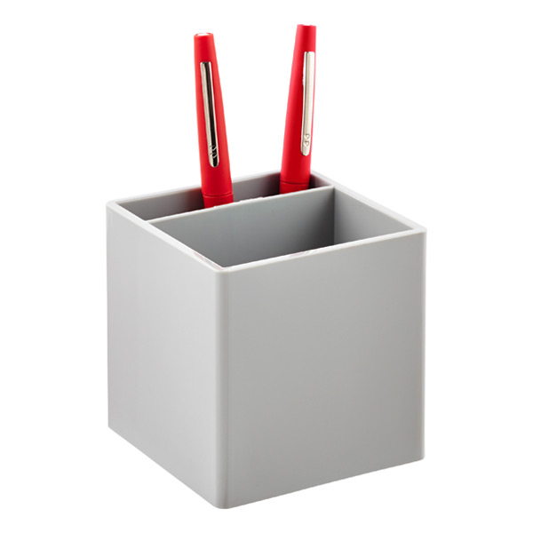 Poppin® Pencil Cup Grey