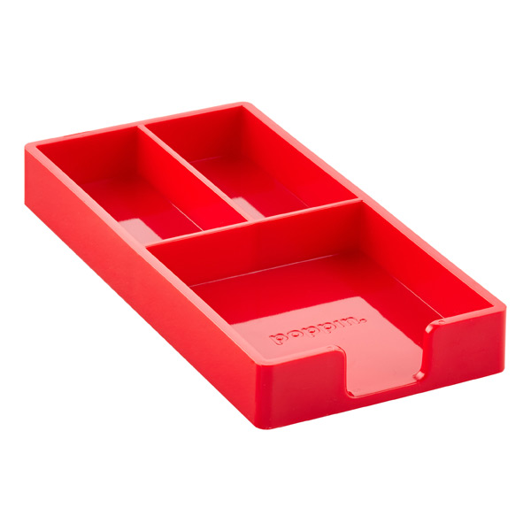 Poppin® Bits & Bobs Tray Red