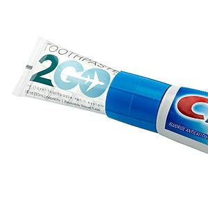 Toothpaste 2 Go Tube & Refill Adapter System