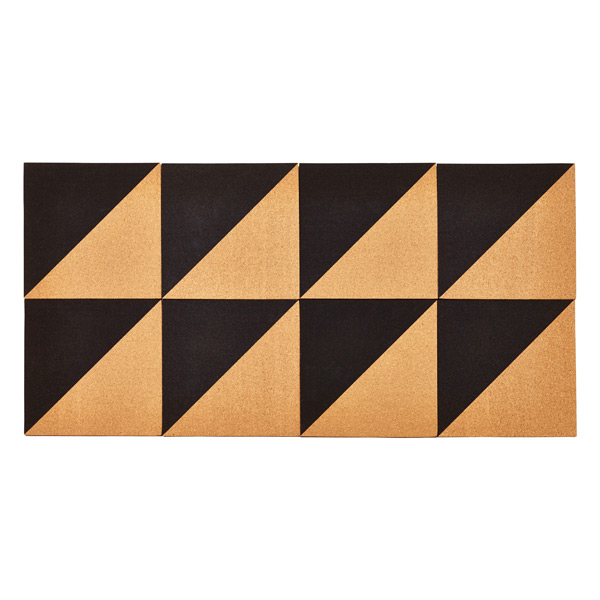 Umbra® Graph Cork Board Natural/Black Set of 8