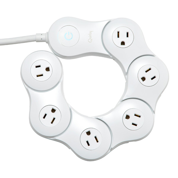 Pivot Power™ Surge Protector 2 White
