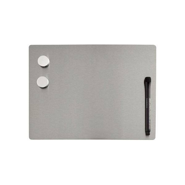 Small Magnetic Dry Erase Board Stainless Steel