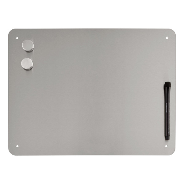 Medium Magnetic Dry Erase Board Stainless Steel