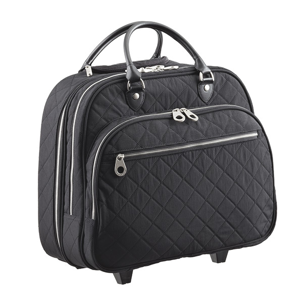 Rolling Tote Quilted Black