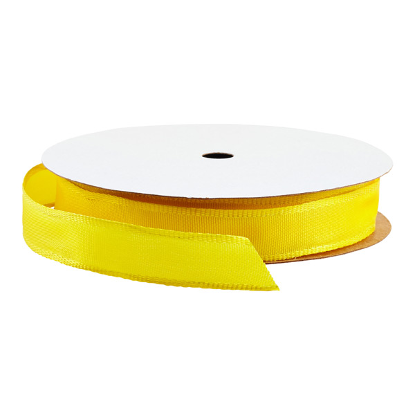 Wired Ribbon Bright Yellow