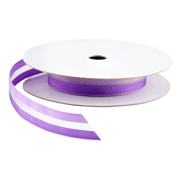 Two-Tone Sheer Ribbon Purple