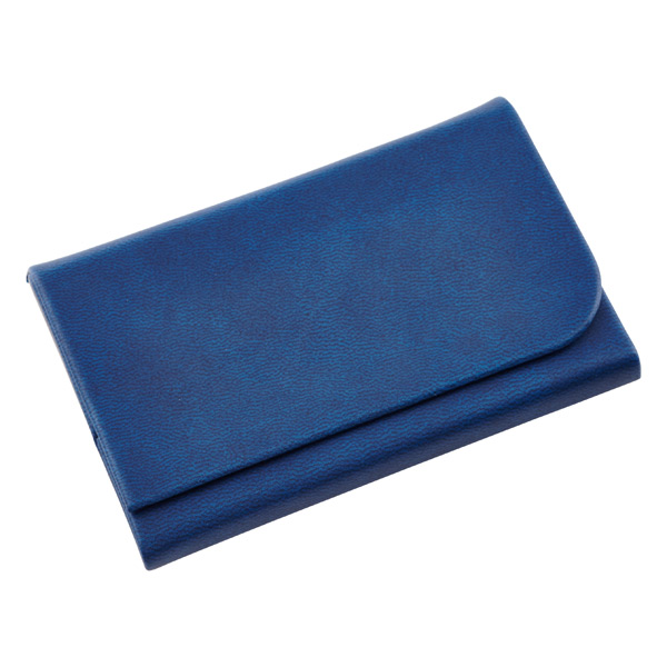 Magnetic Business Card Holder Navy