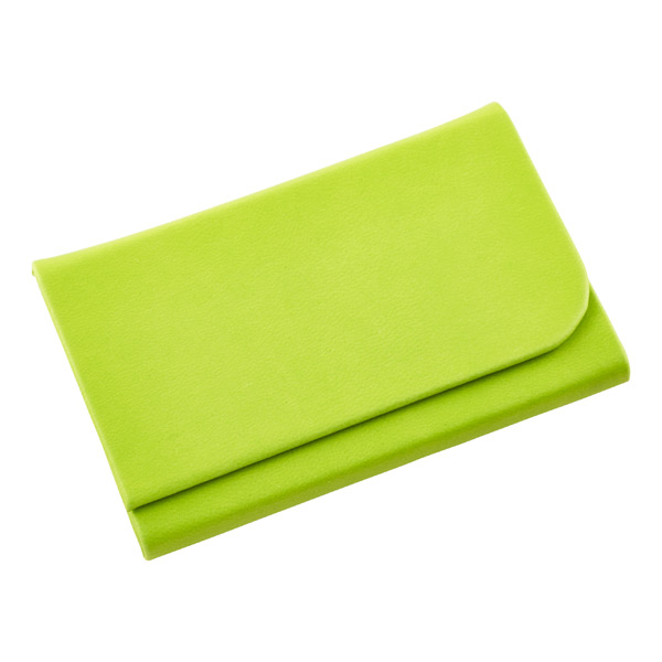 Magnetic Business Card Holder Lime