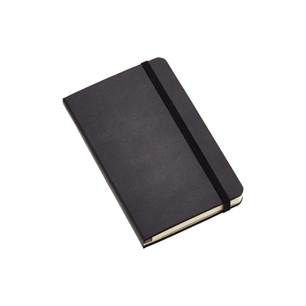 Pocket Hard-Cover 18-Month Weekly Planner Black