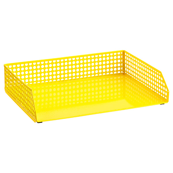 Edison Stacking Letter Tray Yellow