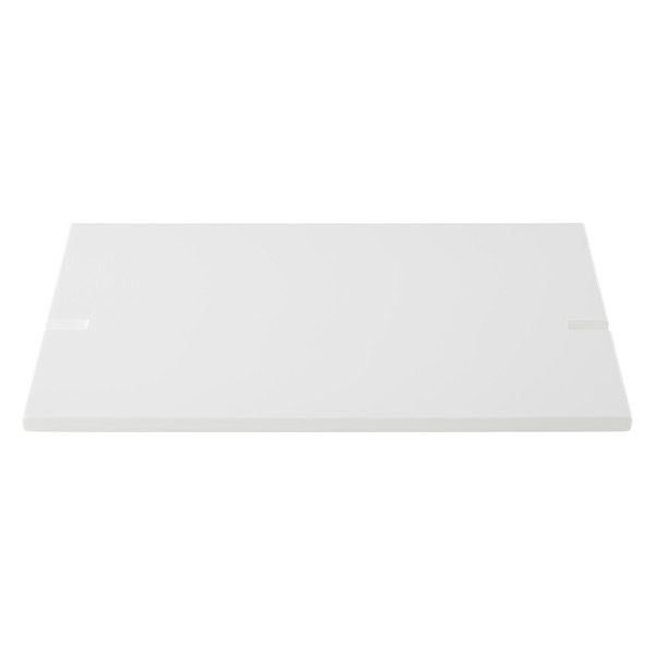 White Connections® Extended Desk Shelf
