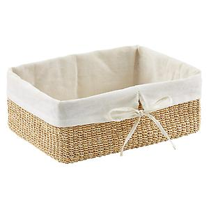Large Makati Lined Basket Natural