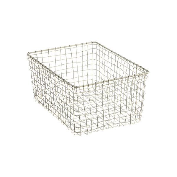 Medium Marche Basket Zinc