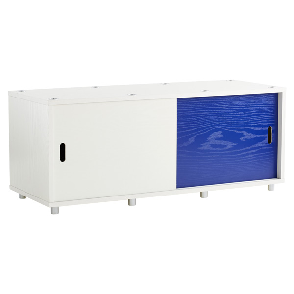 Wide Vario Stacking Console White/Blue