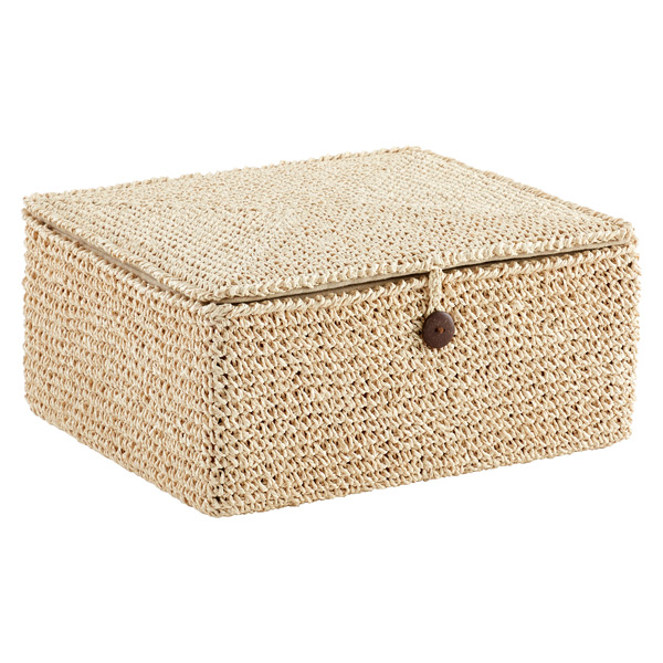 Crochet Box Natural