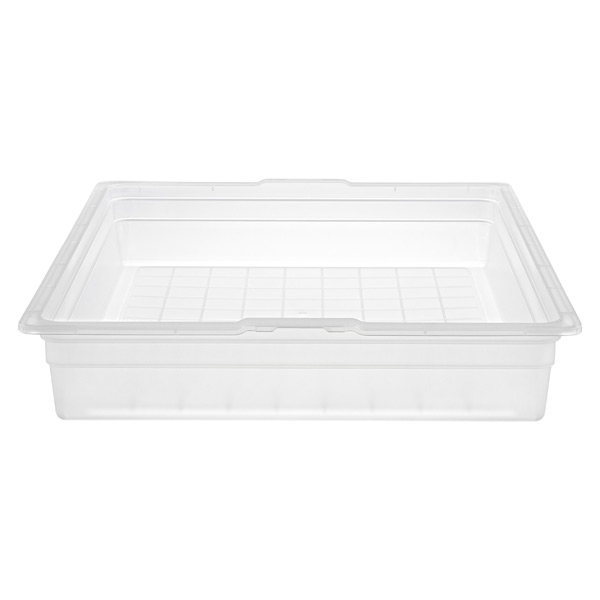 elfa Medium Solid 1-Runner Drawer Translucent