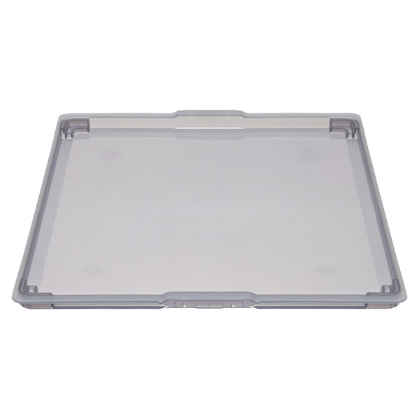 elfa Medium Solid Drawer Lid Smoke