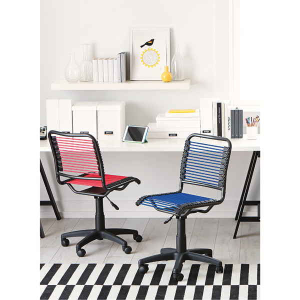blue bungee office chair | the container store