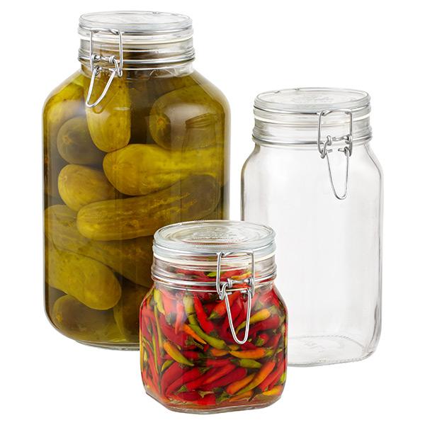 Hermetic Glass Storage Jars ...