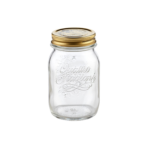 17 oz. Quattro Stagioni Canning Jar 500 ml.