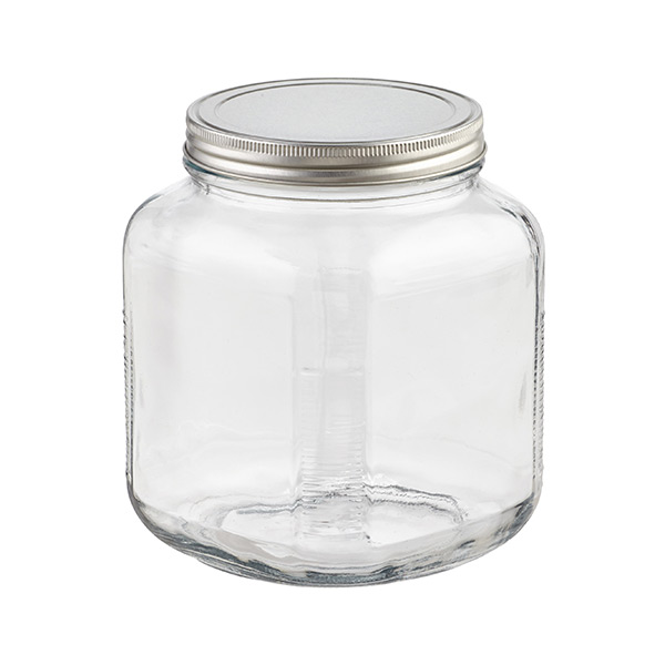 901d4c5cb28 Glass Jars With Lids - Anchor Hocking Glass Cracker Jars with ...
