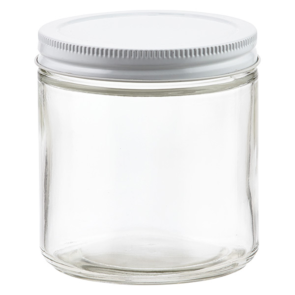 16 oz. Commercial Straight-Sided Jar