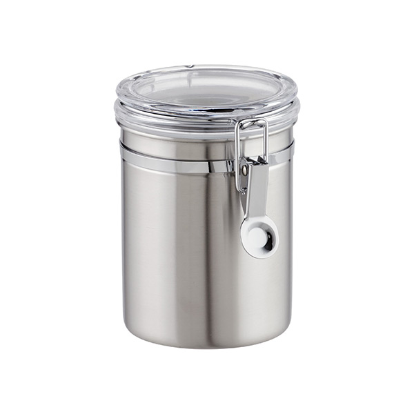 24 oz. Canister Brushed Stainless