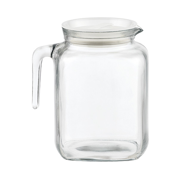 Wine Refrigerator Reviews >> Glass Pitchers - Glass Refrigerator Pitchers | The Container Store