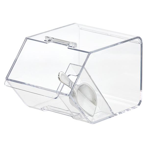 Large Goodie Bin with Scoop Clear