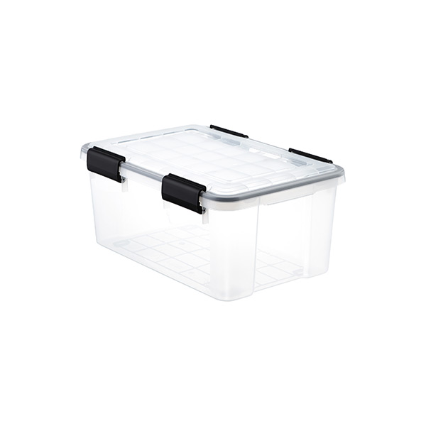 19 qt. Watertight Tote Clear