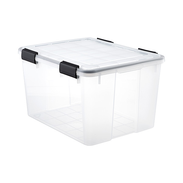 46.6 qt. Watertight Tote Clear