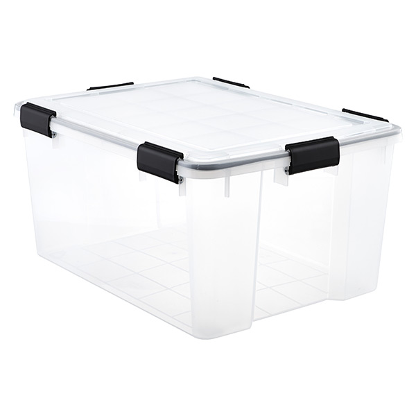 62.8 qt. Watertight Tote Clear