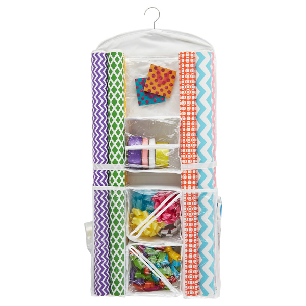 hanging paper organizer Think of the difference between a zillion sheets of paper spread around and some paper boxes to keep them neatly tucked knallbÅge hanging organizer for accessories.