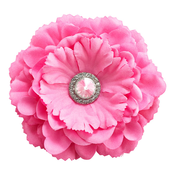 Locker Flower Magnet Pink