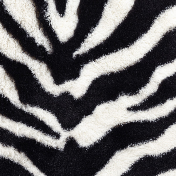 Locker Fur Rug Zebra