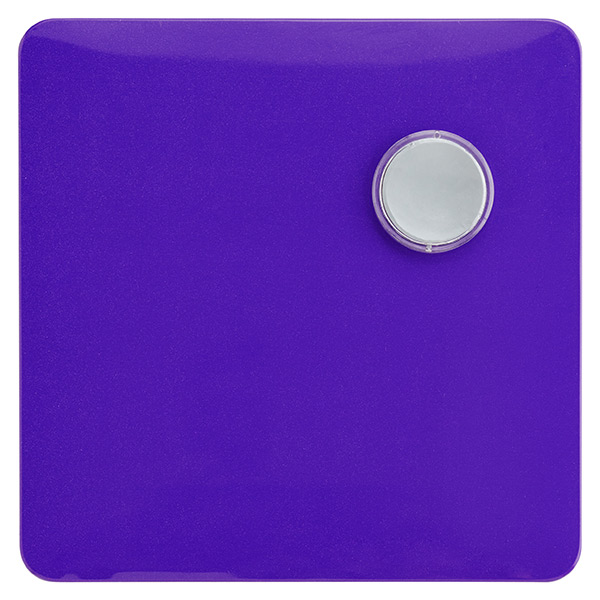 Magnetic Dry Erase Board Purple