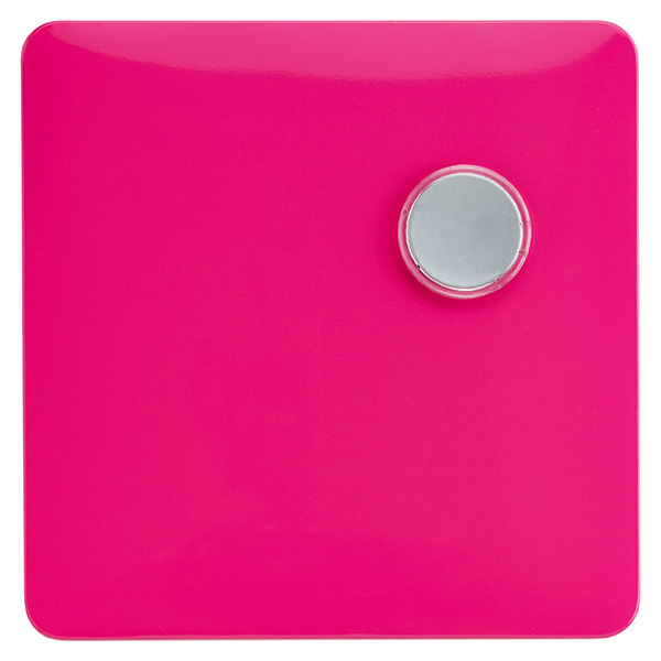 Magnetic Dry Erase Board Pink