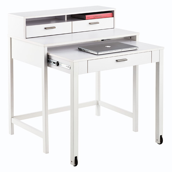 Henley Roll-Out Desk White