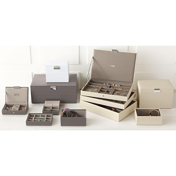 Vanilla Supersize Stackers Premium Stackable Jewelry Box