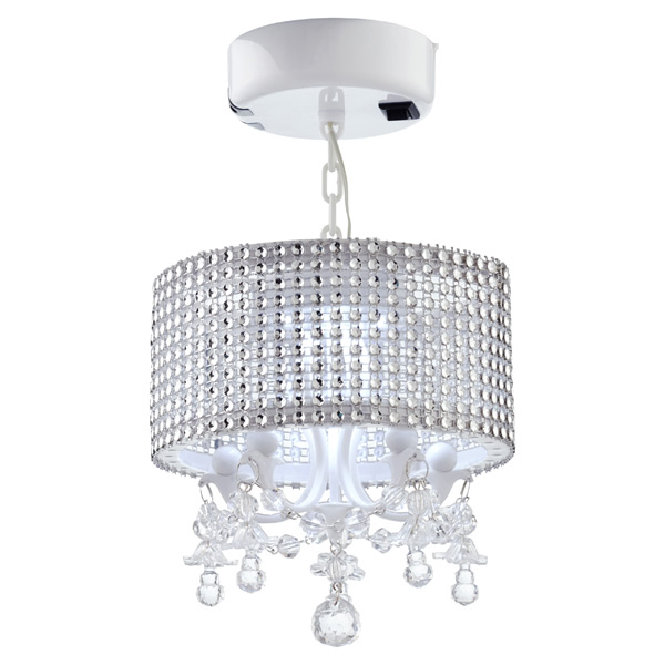 Locker Gem Chandelier White