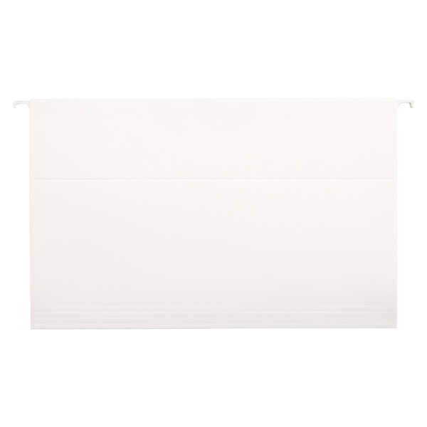 Legal-Size Hanging File Folders White Pkg/6