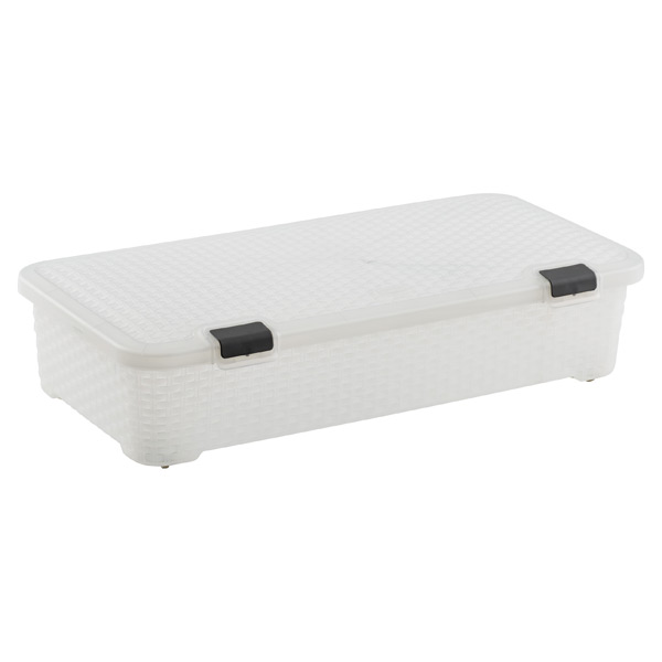 Basketweave Gliding Box Translucent