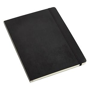 X-Large Moleskine Soft Ruled Notebook Black