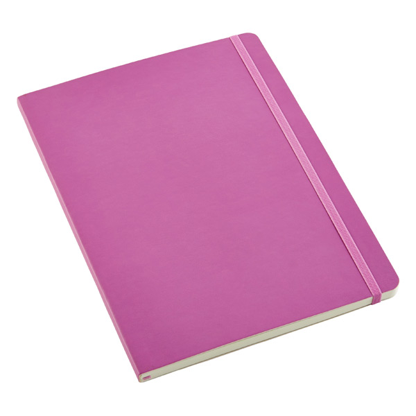 X-Large Moleskine® Soft Ruled Notebook Orchid
