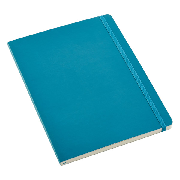 X-Large Moleskine® Soft Ruled Notebook Teal