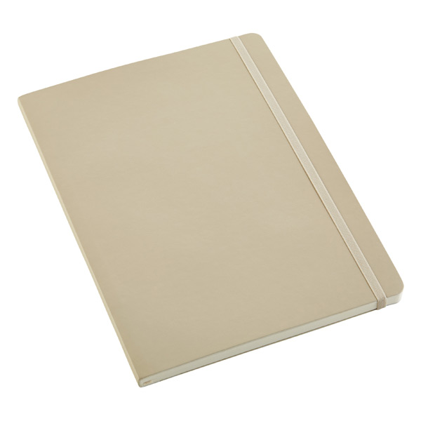 X-Large Moleskine® Soft Ruled Notebook Beige