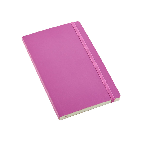 Large Moleskine® Soft Ruled Notebook Orchid