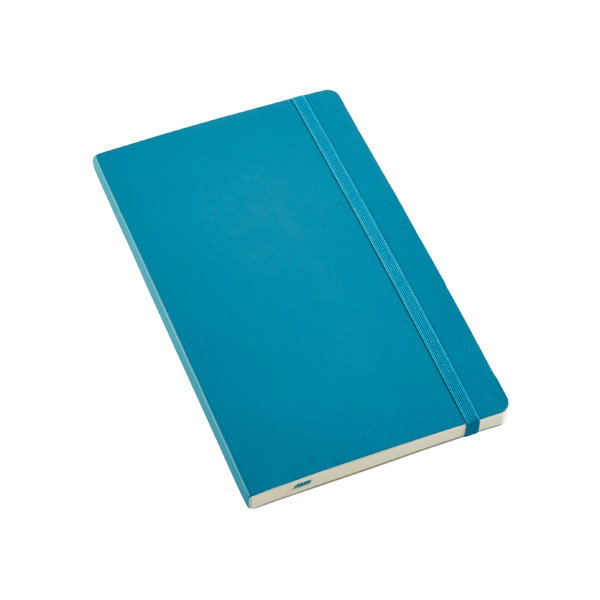 Large Moleskine® Soft Ruled Notebook Teal